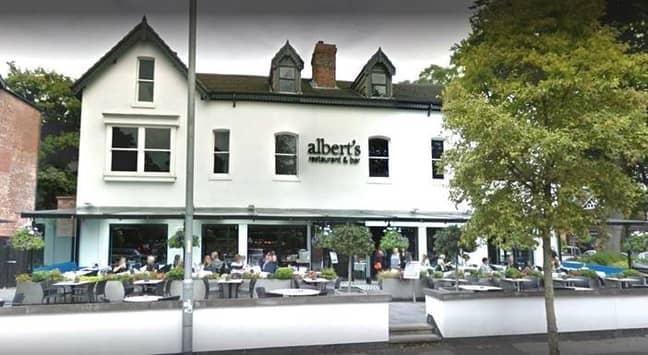 Albert's restaurant. Credit: Deadline News
