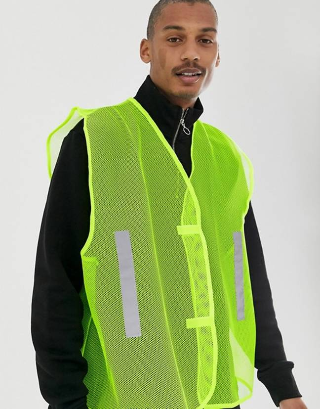 These ASOS vests wouldn't look out of place at Glastonbury 2019. Credit: ASOS