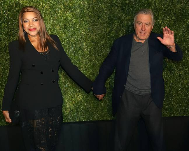 Robert De Niro with his wife Grace Hightower. Credit: PA