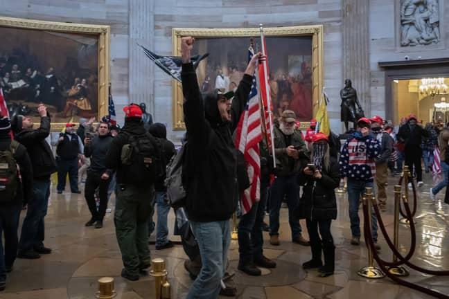 Ms Ocasio-Cortez blasted Mr Cruz for inciting the US Capitol attack. Credit: PA