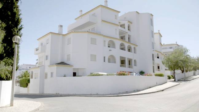 The property that Madeleine McCann disappeared from. Credit: discovery+