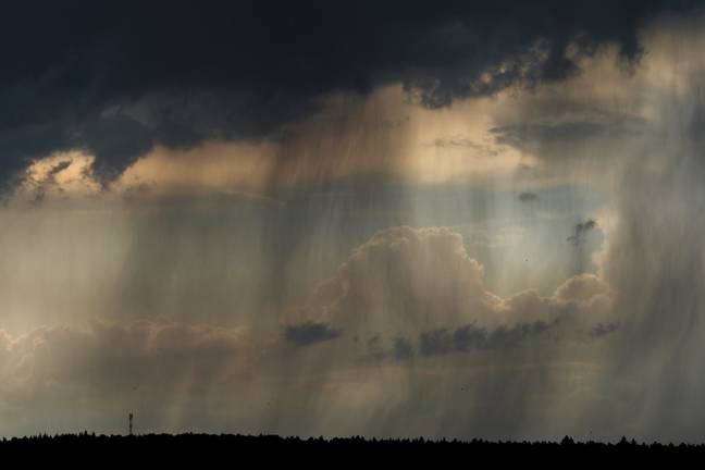 Every cloud...carries more rain. Credit: PA