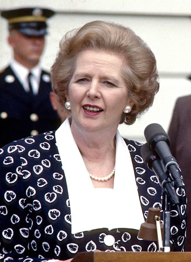 Thatcher died in 2013, aged 87. Credit: PA