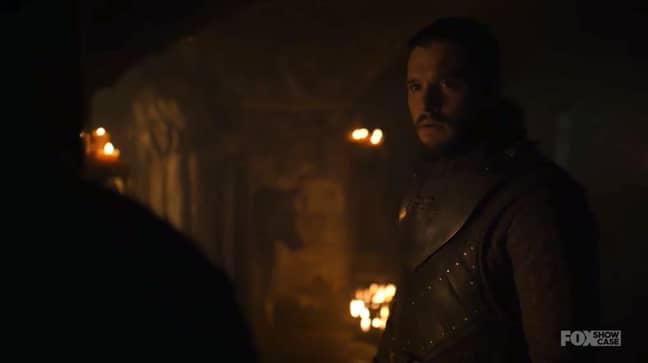 Jon didn't take the news well. Credit: HBO