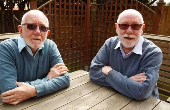 Neil and John are strikingly similar. Credit: Cascade News