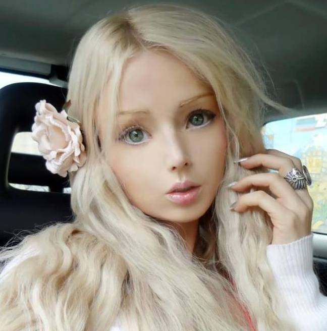 Credit: Facebook / Valeria Lukyanova - A Human Barbie Doll
