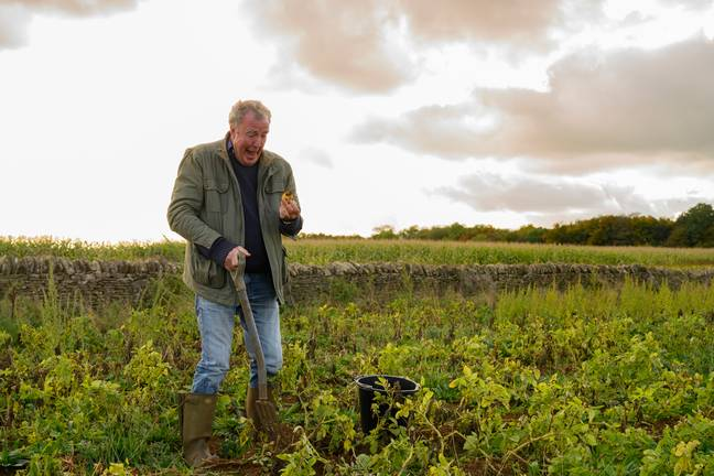 Clarkson wants to make another series of Clarkson's Farm. Credit: Amazon Prime Video