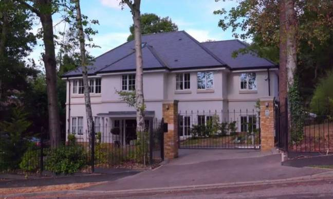 The Hornings' mansion. Credit: Channel 5