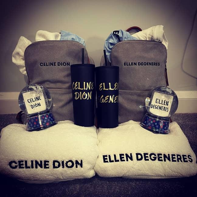 Celine was given $10,000 by Ellen DeGeneres. Credit: CONTENTbible