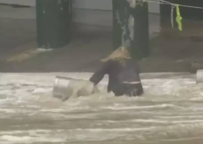 She was determined. Credit: 7News