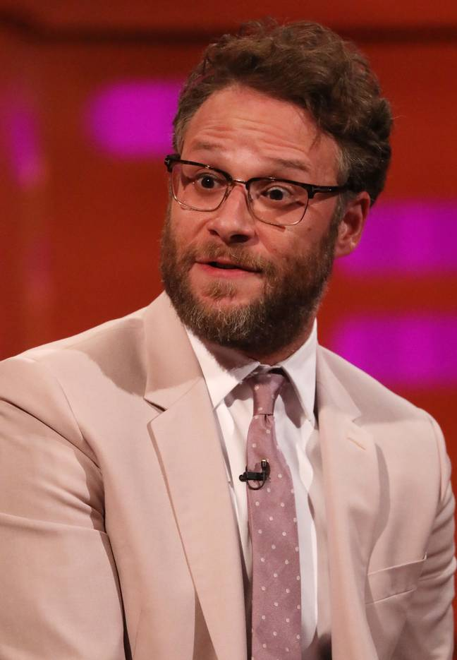 Seth Rogen says his weed smoking doesn't stop when he is on set. Credit: PA