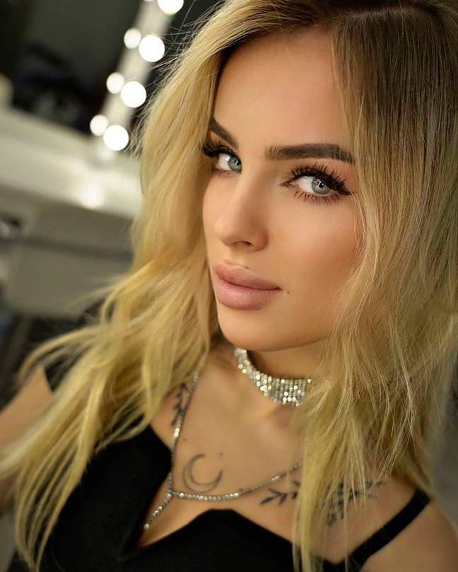 Ukranian model and stylist Ekaterina Kashenko. Credit: East2West News
