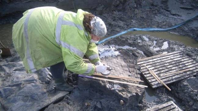 The findings were the result of a nine-year archaeological dig