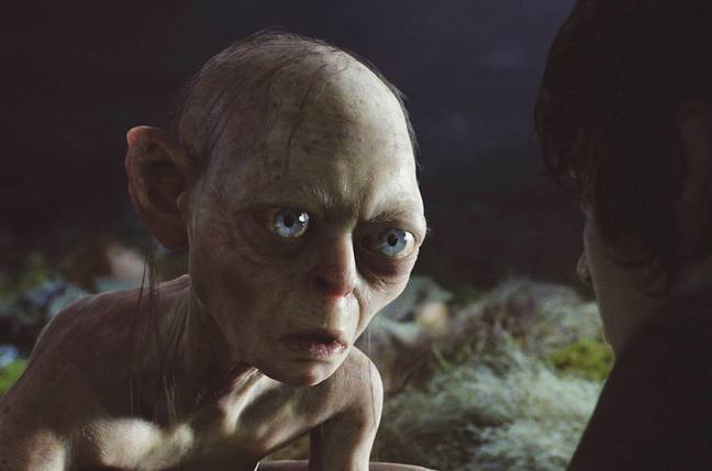 Serkis famously played Tolkien's character Gollum. Credit: