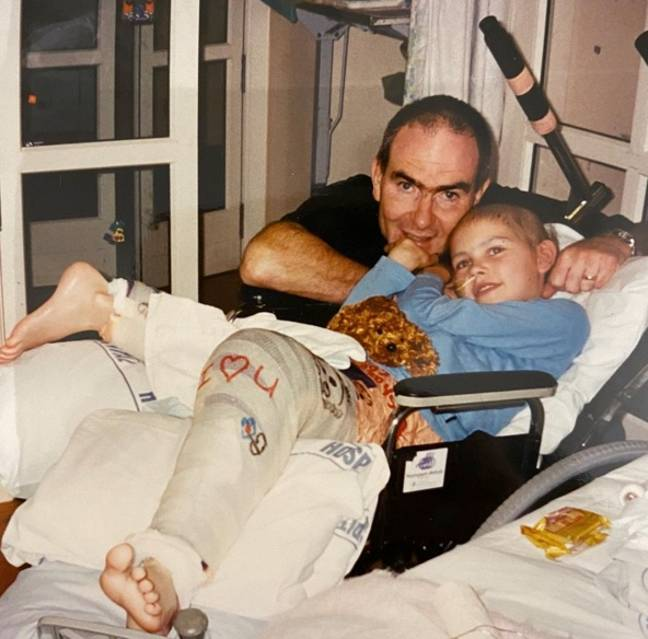 Jessica was just eight when she was diagnosed with cancer. Credit: Supplied