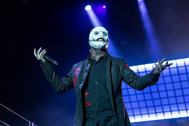 Corey Taylor might have actually started it. Credit: PA