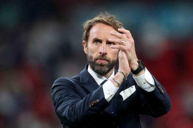 Gareth Southgate took responsibility for the defeat. Credit: PA