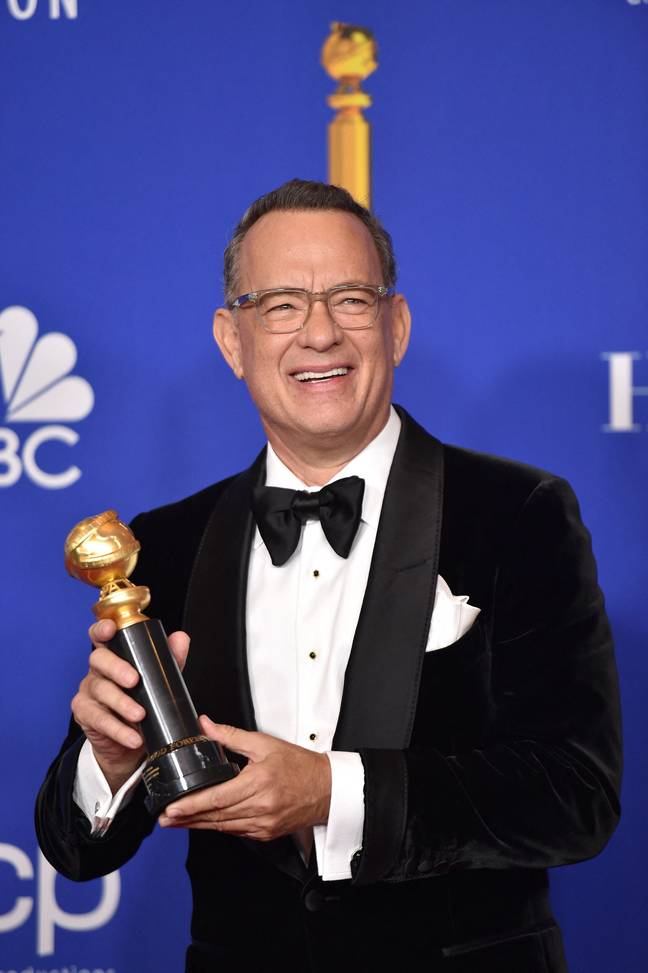 Tom Hanks made a moving speech for graduates at Wright State University. Credit: PA
