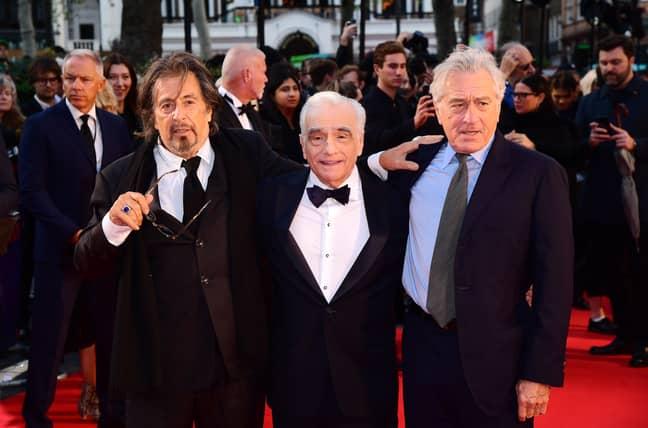 Pacino, Scorsese, and De Niro got back together for The Irishman. Credit: PA