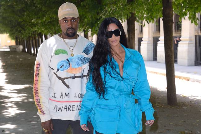 Kanye recently shared a series of tweets about his marital problems with Kim. Credit: PA