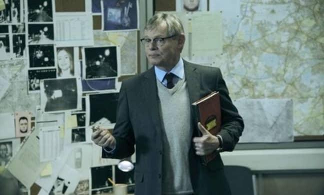 Martin Lunes plays DCI Colin Sutton. Credit: ITV