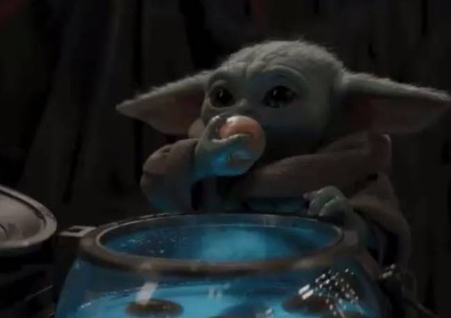 Baby Yoda came in for some criticism recently. Credit: Disney