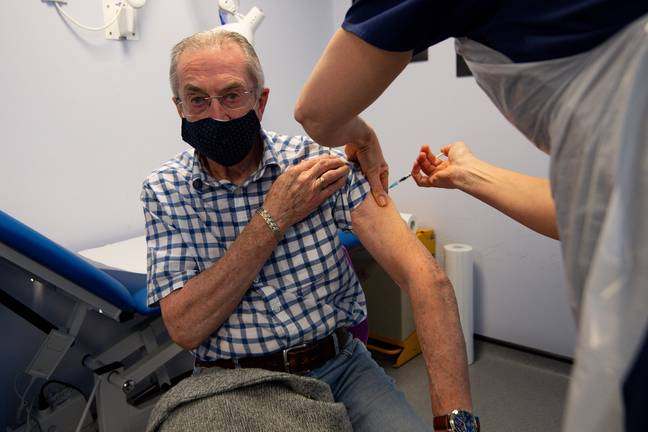 The vaccine for Covid-19 is currently being rolled out across the UK. Credit: PA
