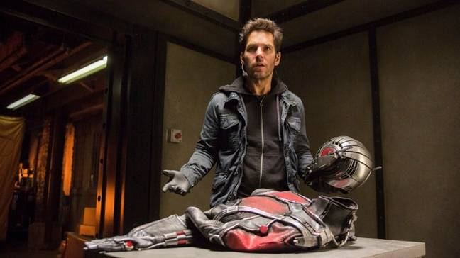 Paul Rudd as Ant-Man back in 2015. Credit: Marvel