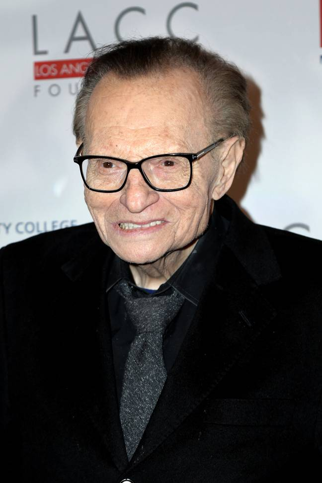 Larry King passed away at the age of 87 today (23 January). Credit: PA