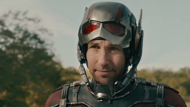 Paul Rudd as Ant-Man. Credit: Marvel