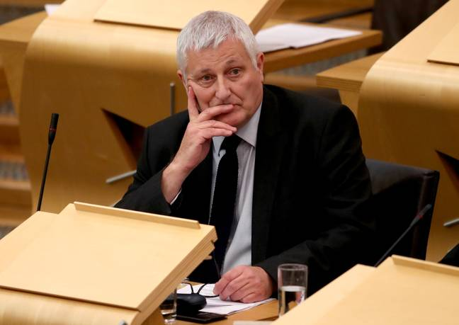Scottish Green MSP John Finnie. Credit: PA