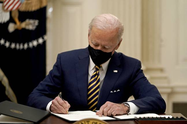 Joe Biden is expected to sign an executive order reversing the ban on transgender people serving in the US military. Credit: PA