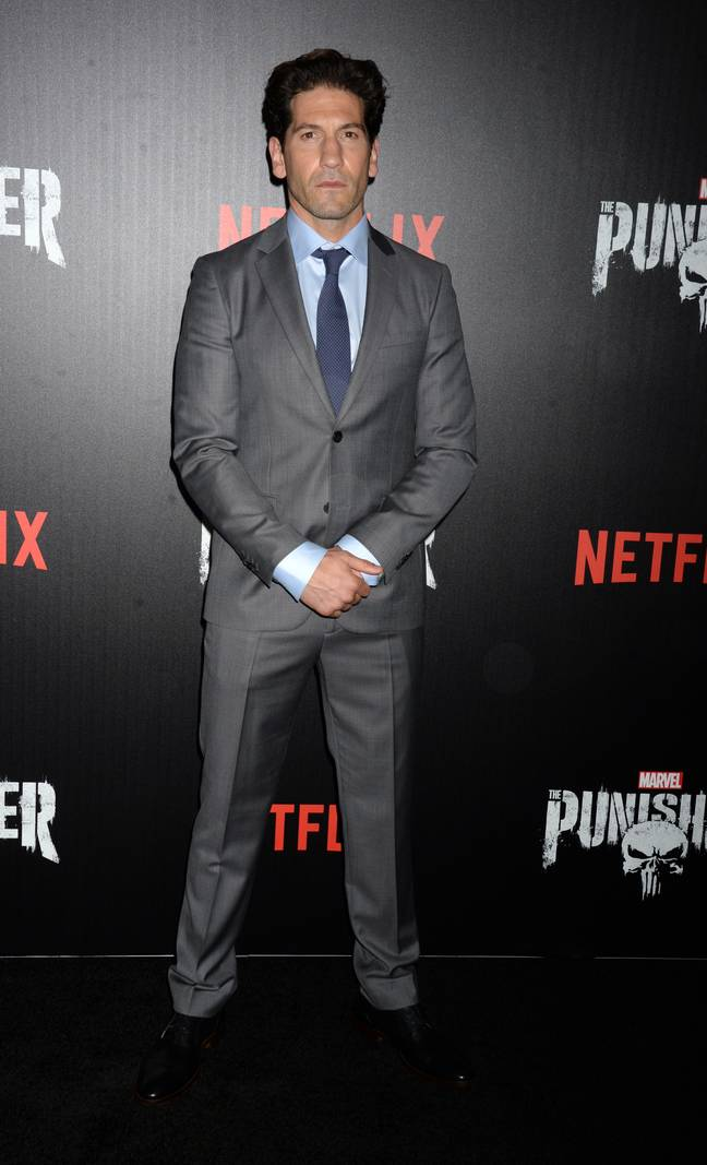 Jon Bernthal attending Marvel's The Punisher premiere on November 6, 2017. Credit: PA