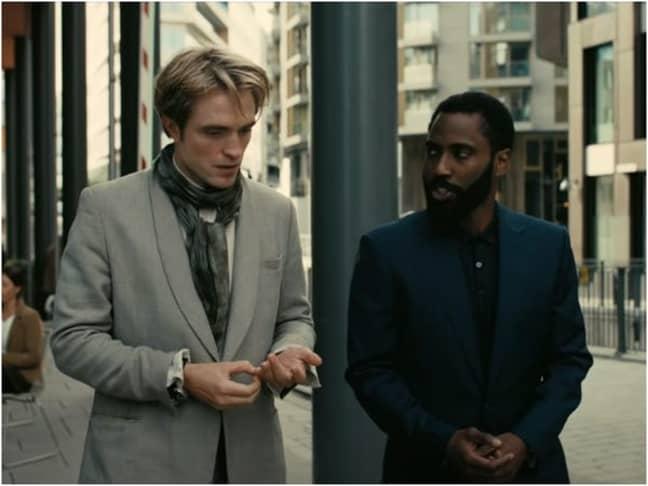 Robert Pattinson stars alongside John David Washington. Credit: Warner Bros