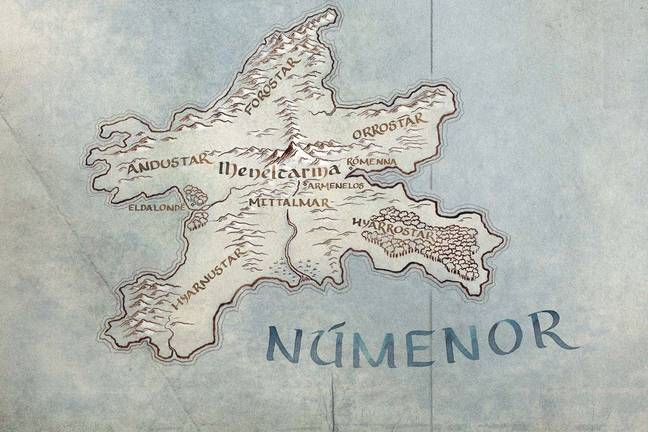 The Kingdom of Numenor is set to feature in the new series. Credit: Amazon