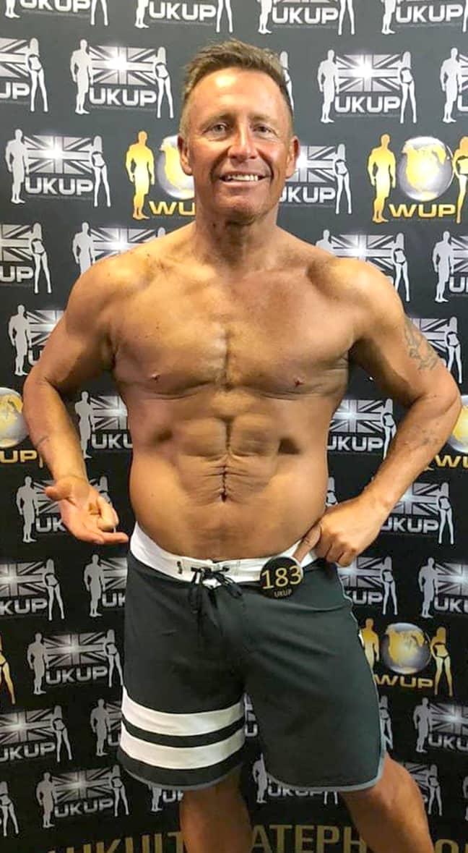Darren Jones following the incredible weight loss. Credit: Storytrender