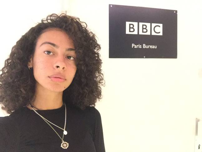 Talha was recently interviewed by BBC Worldwide about the campaign. Credit: Amel Talha