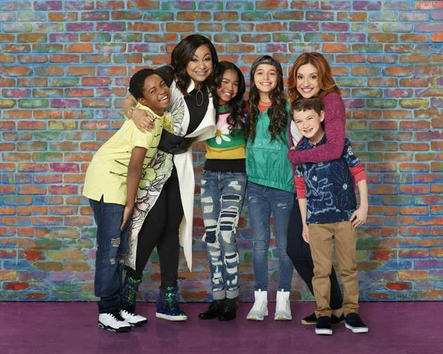 Raven is now a single mother of twins and lives with her best friend and her son. Credit: Disney Channel