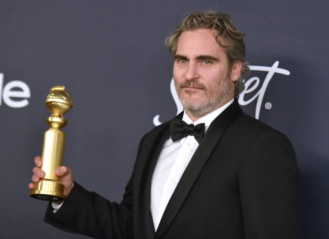Phoenix won a Golden Globe for his performance as the Joker. Credit: PA