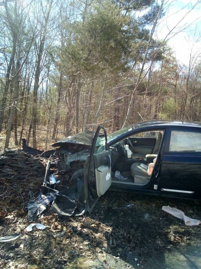 The woman's car. Credit: Town of Cairo New York Police Department