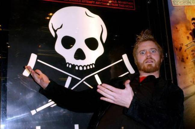 Ryan Dunn arrives for the UK film premiere of 'Jackass: The Movie' at the Empire Leicester Square in central London. Credit: PA