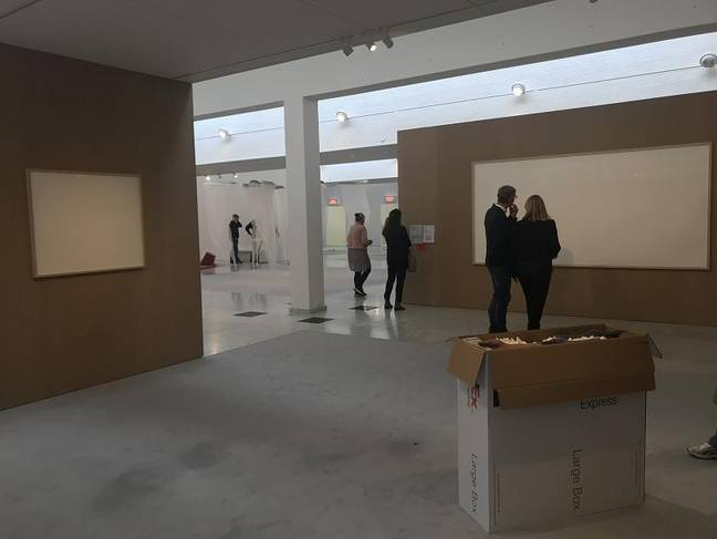 Here's the artwork in the museum. Credit: Kunsten Museum of Modern Art Aalborg