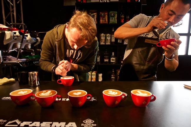 A study suggests having up to 25 coffees a day isn't bad for heart health. Credit: PA