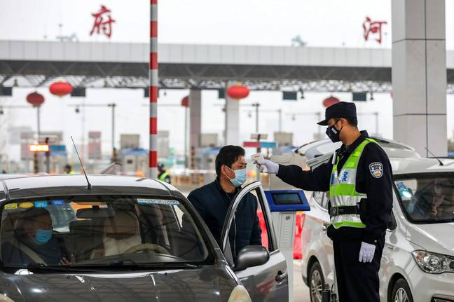 Two Chinese cities, Wuhan and Huanggang, are on lockdown to limit the spread of the virus. Credit: PA