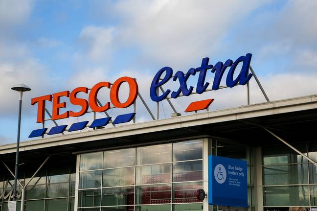 The incident allegedly happened at a Tesco Extra store in February 2020. Credit: PA