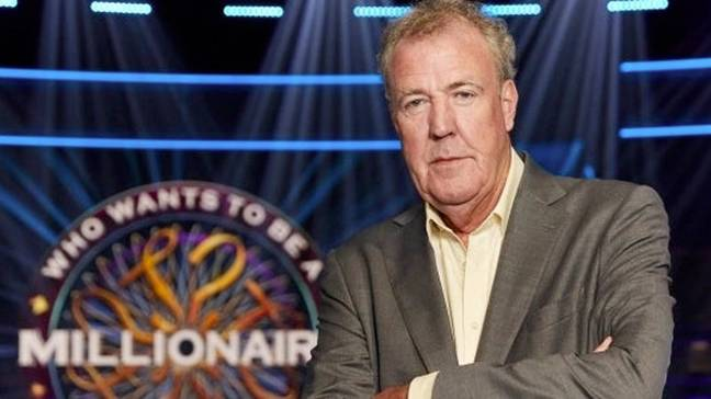 Jeremy Clarkson is the current host of Who Wants To Be a Millionaire? Credit: ITV