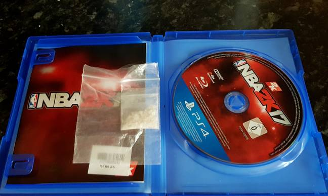 Edwards bought the game from a GAME shop in Preston. Credit: SWNS