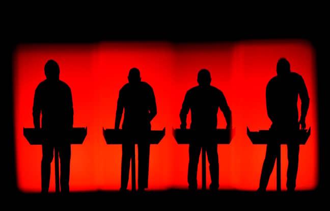 Kraftwerk. Credit: PA