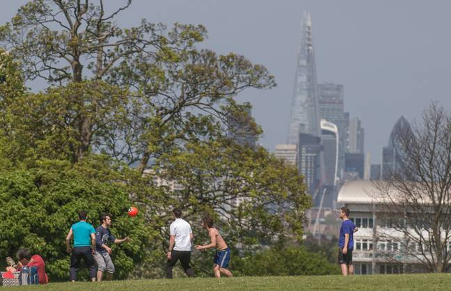 Lambeth Council has now closed the park. Credit: PA