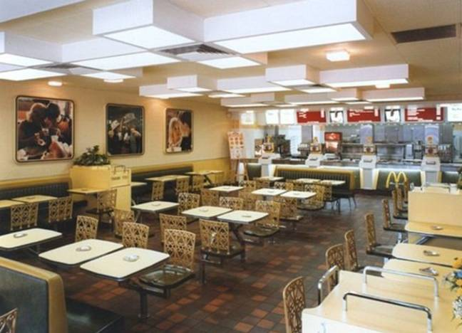 This is how the McDonald's restaurants looked back in the day. Credit: BPM Media